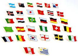 Crossed Flag Pins Flag Pins Flag Lapel Pin Custom World Flag Lapel Pins