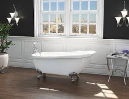 only 440 99 brentwood traditional freestanding slipper bath