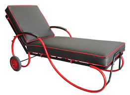 Black Chaise Lounge American Deco Black And Chaise Lounge Modernism