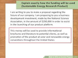 investment proposal sample investment proposal 6 investment