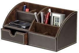 Desk Top Organizer by Raima Desktop Organizer Faux Leather Raima