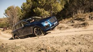 new bentley bentayga 2017 interior and off road