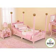amazon com for girls princess toddler pink bed a cute u0026 charming