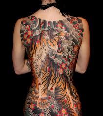 tattoo back japanese full back japanese angry tiger tattoo tattoo ideas pinterest