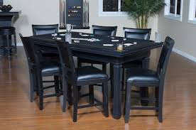 Poker Table Chairs Burlington Game Table Set By American Heritage Billiards