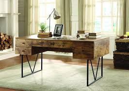 Computer Desk Amazon Com Coaster Home Furnishings Analiese Rustic Industrial