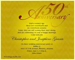 sle wedding announcements 50th wedding anniversary announcement wording 50th wedding