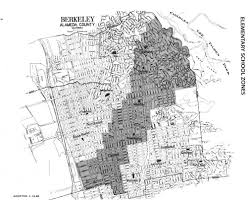 Berkeley Map Berkeley Zones