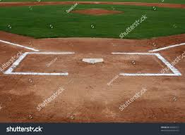 home plate baseball field home plate stock photo 60200212 shutterstock
