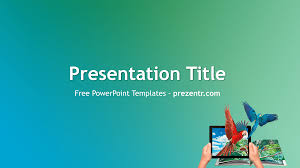 free augmented reality powerpoint template prezentr