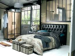 chambre style loft industriel meuble style industriel loft pas cher meuble style industriel loft
