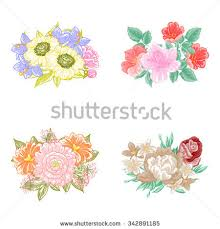 All About Flowers - flower set stock vector 342891185 shutterstock
