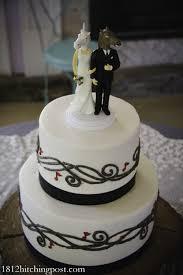 two tier wedding cakes