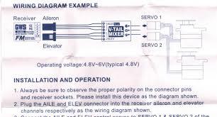 help needed with servo wire polarity rcpowers com