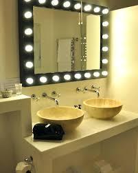lighted mirrors for bathroom backlit bathroom mirrors easywash club