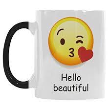 amazon com interestprint cute hello beautiful emoji kiss love