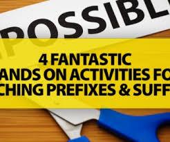 95 free prefixes suffixes worksheets