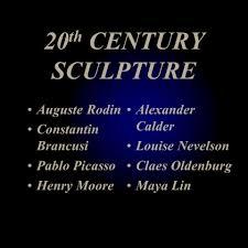 eighth grade visual arts i art history periods u0026 schools c 20 th