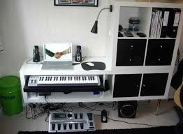 small music studio small space music studio laced with ikea hacks apartment therapy