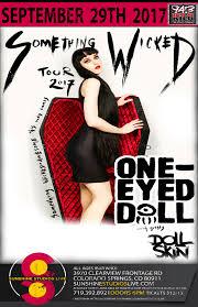 halloween city colorado springs one eyed doll doll skin u2013 tickets u2013 sunshine studios live