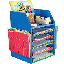 Colorful Desk Organizers Really Teachers Desktop Organizer With Paper Holders