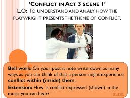conflict in act 3 scene 1 of romeo u0026 juliet by