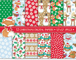 Commercial Foil Christmas Decorations by Christmas Background Etsy