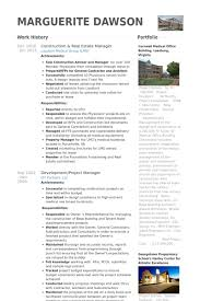 real estate manager resume the best resume