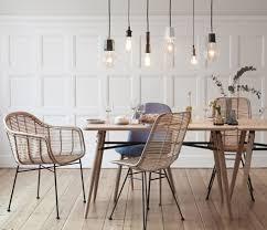 Esszimmer Retro Design Vintage Stuhl Rattanstuhl Rattansessel My Lovely Home My
