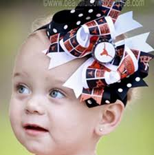 baby bow boutique buy fancy ut of longhorns hair bow or baby