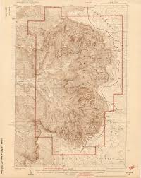 map of utah utah historical topographic maps perry castañeda map collection