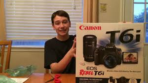 black friday canon rebel canon t6i unboxing epic black friday deal youtube
