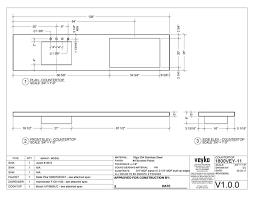 veyko countertops drawing