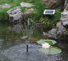 Solar Lights For Ponds by Solar Fountain Pump 2w Floating Water Pump For Small Pond