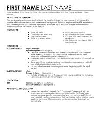 Professional Summary On A Resume Download Template For A Resume Haadyaooverbayresort Com