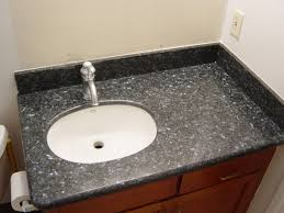blue granite prefab countertops