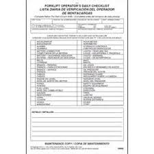 checklist template for truck maintenance business plan sample of