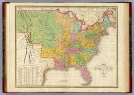Map Of The States In United States by Map Of The United States David Rumsey Historical Map Collection