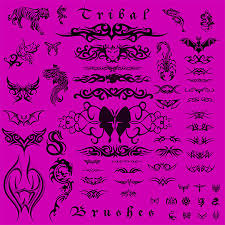307 photoshop tattoo brushes u2013 free abr psd eps format download