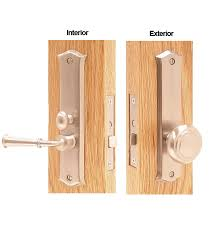 Mortise Interior Door Hardware Decorative Screen Door Mortise Lock Set Deltana Sdl688