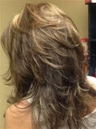 medium length hair styles shorter in he back longer in the front image result for medium length modern shag haircut back view girl