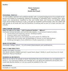 hobbies and interests on resume examples