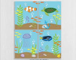 ocean theme nursery etsy