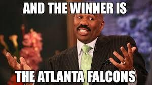 Falcons Memes - and the winner is the atlanta falcons meme steve harvey 76930