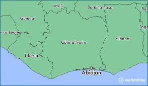 map of abidjan where is abidjan cote d ivoire abidjan lagunes map