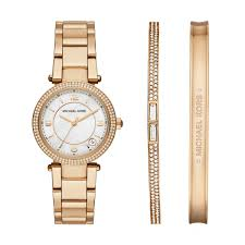 gold tone bracelet watches images Michael kors designers luxury michael kors delray round gold jpg