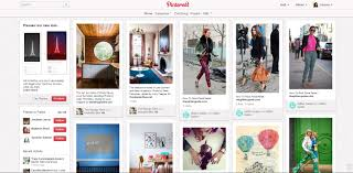pinterest begins rolling out new site design