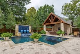 Backyard Pool Pictures Triyae Com U003d Backyard Pool Ideas Landscaping Various Design