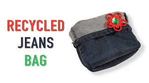 diy recycled jeans bag kids art and craft diy videos for kids