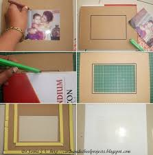 photo frame cards handmade photo frames procedure cards crafts kids projects photo